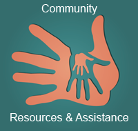 Link to Community Resources and assistance